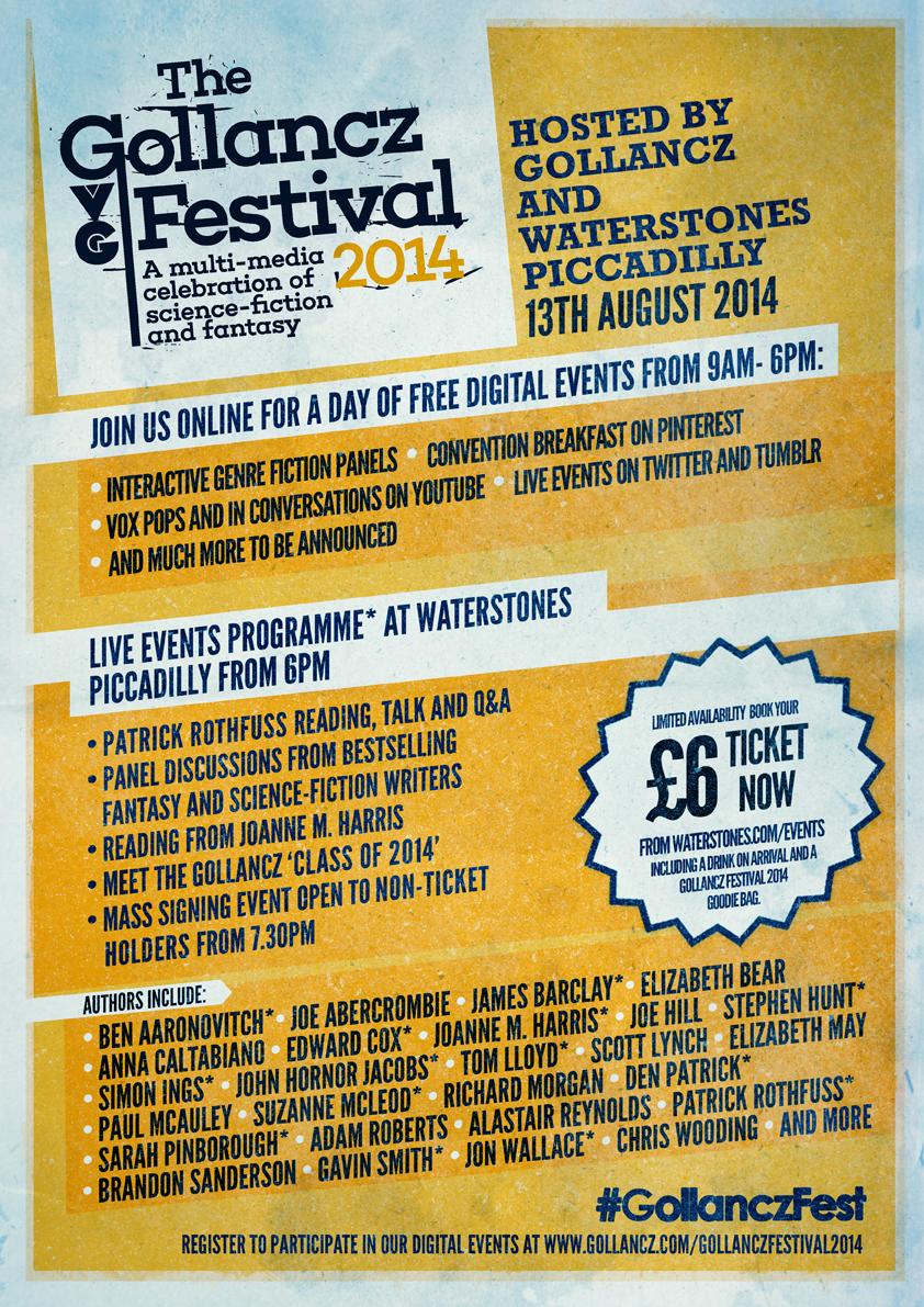 Gollanc Festival 2014 Poster