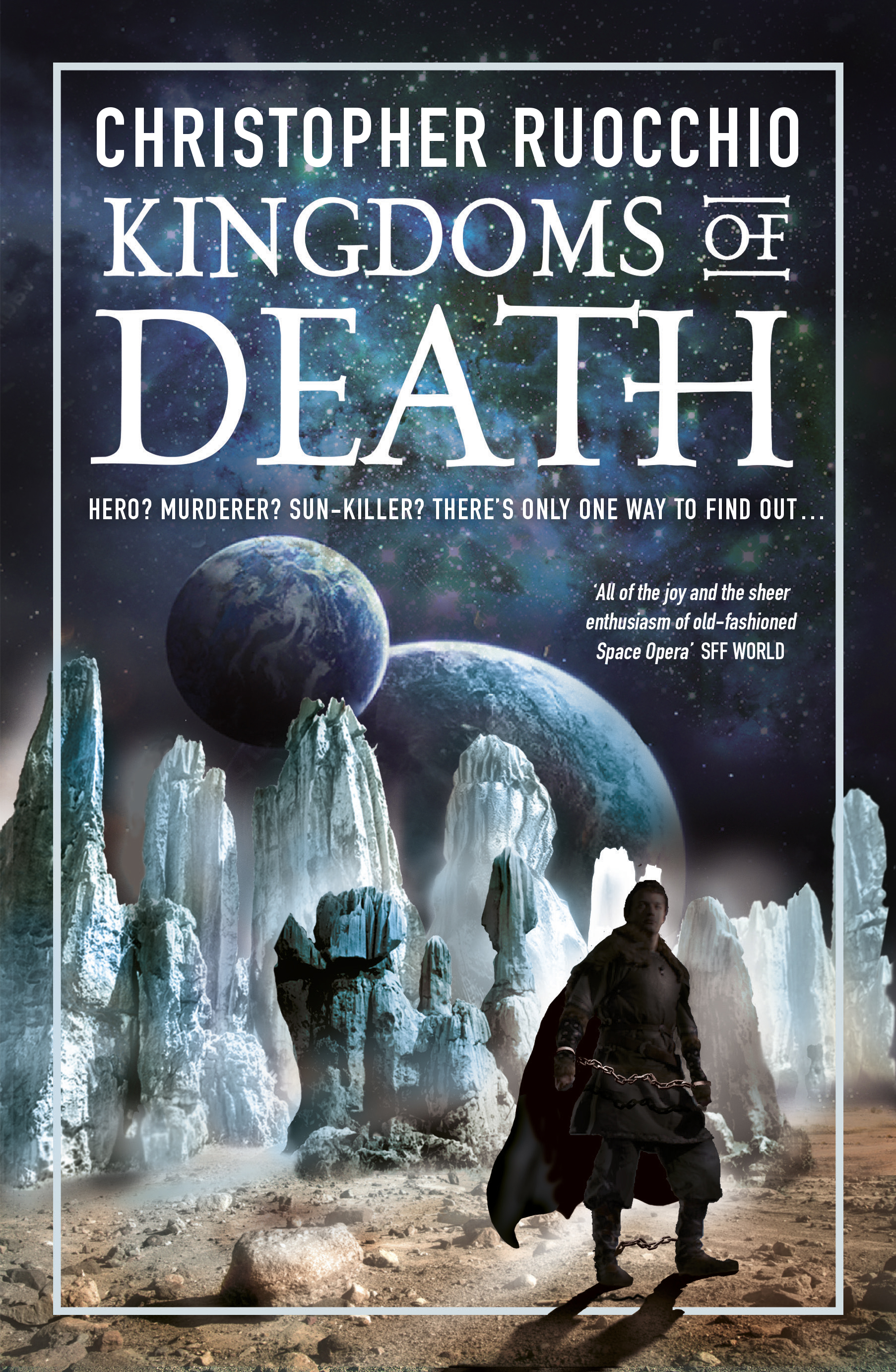 Cover Reveal: Kingdoms of Death, Christopher Ruocchio