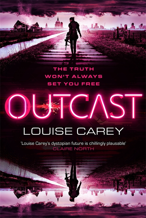 Cover Reveal: Outcast by Louise Carey
